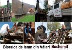 Tratare lemn acoperiș biserica Vălari