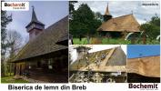 Tratare lemn acoperiș biserica Breb